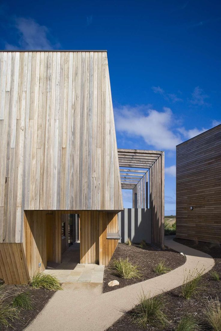 Shiver Me Timbers: 10 Of Melbourne's Warming Wooden Homes - Architizer