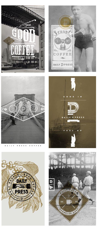 Daily Press Identity by Matt Delbridge, via Behance | #stationary #corporate #design #corporatedesign #identity #branding #marketing < repinned by www.BlickeDeeler.de | Take a look at www.LogoGestaltung-Hamburg.de