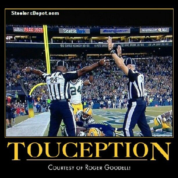 Monday Night Football:  One ref calls Touchdown, the other calls interception! Seahawks 14 Packers 12 in a bizarre finish. 9/24/12  #nfl #football #packers #seahawks