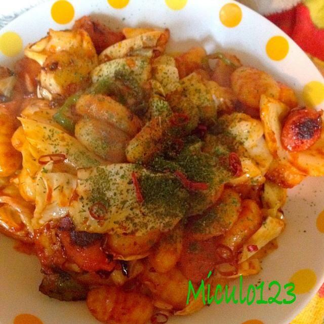 コゲの味がしたけど、作ってくれてありがとう - 80件のもぐもぐ - 旦那さん作アラビアータニョッキ by miculo123