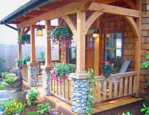 Как сделать крыльцо на даче | Устройство крыльца дома своими руками