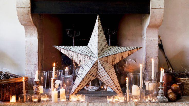 M s de 25 ideas incre bles sobre velas de navidad en for Decoracion luminosa navidena