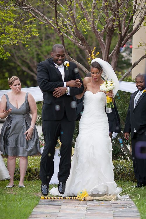 25 Best Jumping The Broom Ceremony Images On Pinterest Wedding