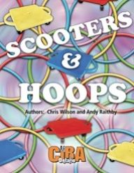 Enjoy playing 36 Scooter Games, 13 Hula Hoops Games, and 30 Challenges, Relays, and Initiatives with Hoops.  The games require different levels of physical activity, team problem solving ability, and the freedom of players to just delight in fun, active, and inclusive games.