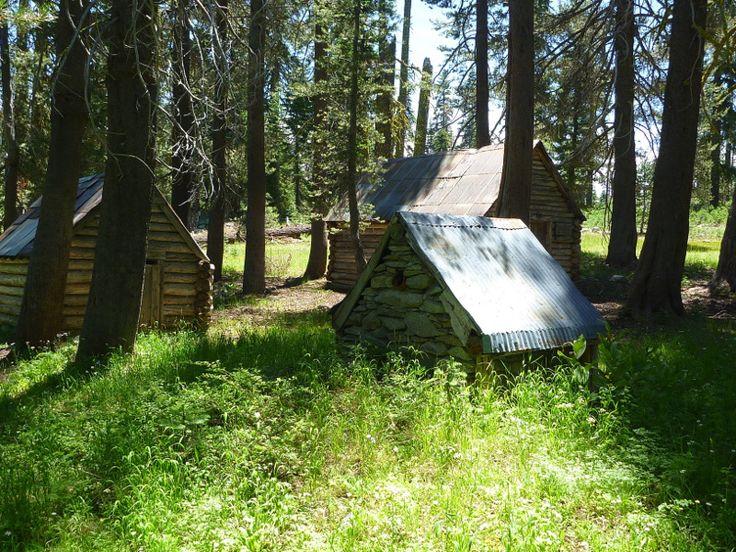 Whiskey Creek Camp in the Granite Chief Wilderness, California