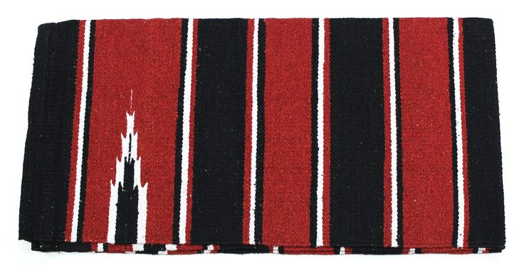 """Great red navajo blanket for everyday use and for show. Western Red Navajo Horse Blanket. 30"""" x 60"""" blanket."""