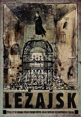 Leżajsk, plakat z serii Polska, Ryszard Kaja