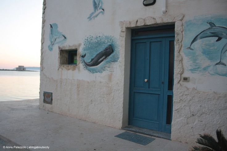 Strange full of fish #house in #Trapani port ablogaboutsicily.wordpress.com