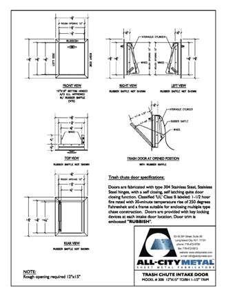 12 best trash chute images on pinterest trash chute. Black Bedroom Furniture Sets. Home Design Ideas