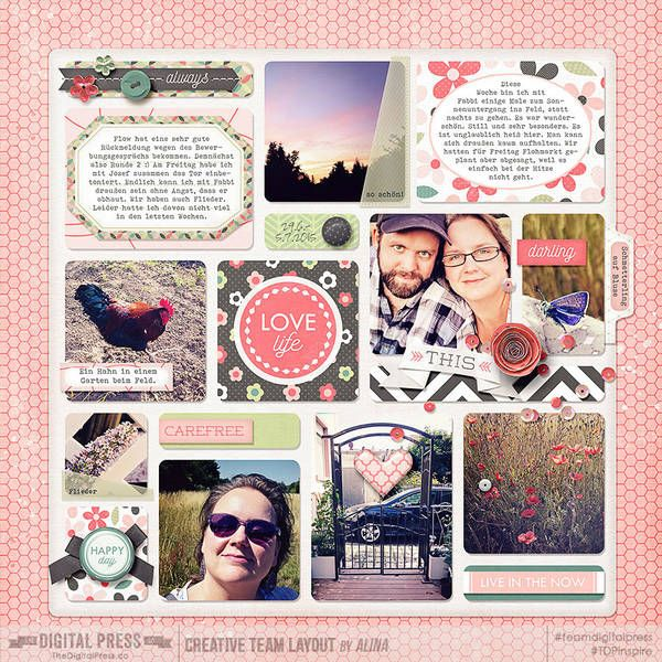 Another one for the mutual project with my best friend. Although I can only show you my family's page.  Pretty Posies Kit and Journaling Cards by Wildheart Designs  http://shop.thedigitalpress.co/Pretty-Posies-Full-Kit.html http://shop.thedigitalpress.co/Pretty-Posies-Journal-Cards.html  Weekly Roundup Vol 4 by Digital Scrapbook Ingredients  http://shop.thedigitalpress.co/Weekly-Roundup-Templates-Vol4.html