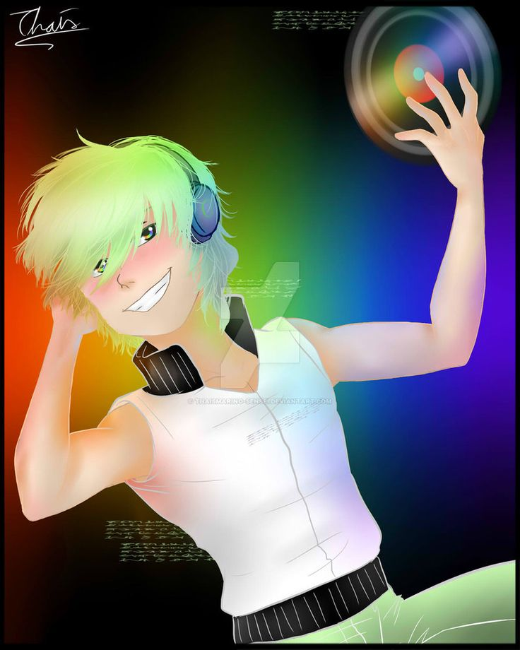 DJ Boy by ThaisMarino-Sensei.deviantart.com on @DeviantArt