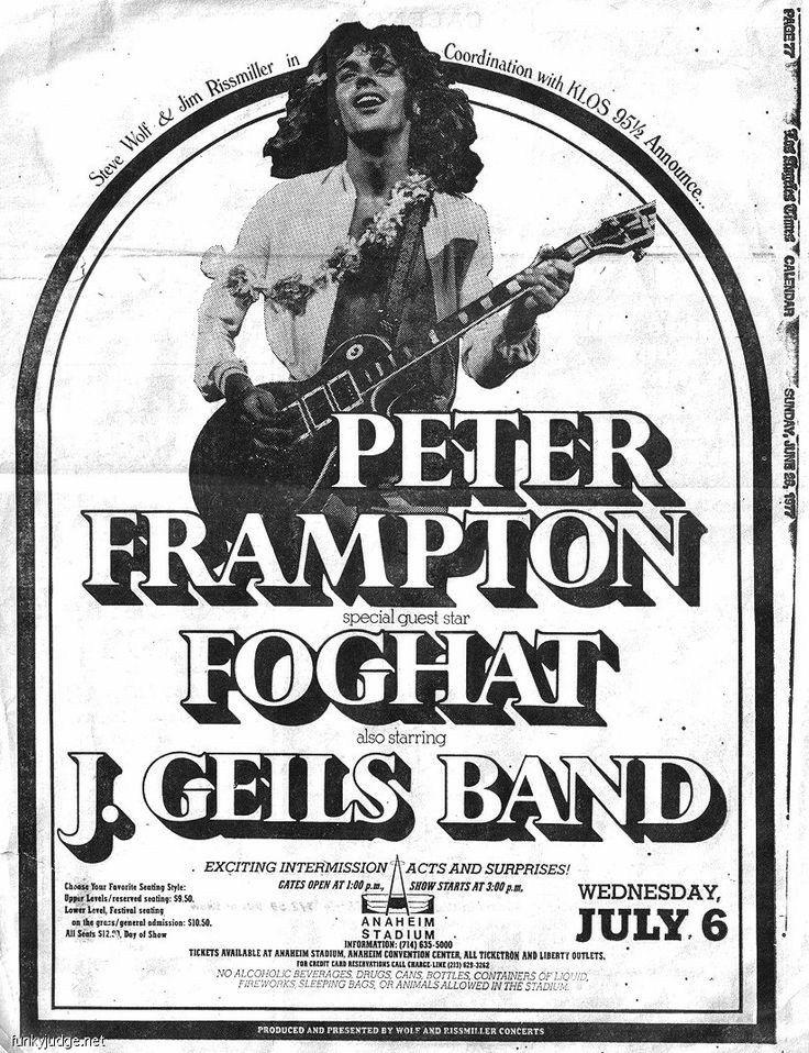 Gig Poster The Eagles California Tour
