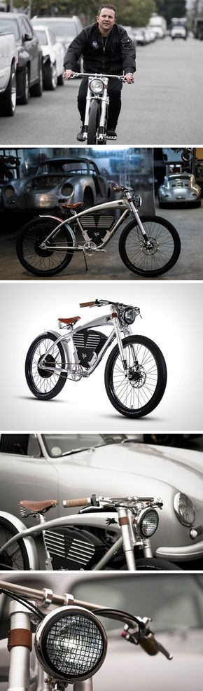 There's a lot that the electric Outlaw Tracker bike achieves in terms of being different. Firstly, its styling sets it apart, at the crux of a motorbike and a pedal-bike. With pedals on the outside, and a 3,000-watt hub motor on the inside, the bicycle can hit speeds of 36 mph. A 702 watt-hour battery sits at the very center, the heart of the bike, supplying it with power, while acting as a heat sink, but more importantly, giving it a certain gravitas as well as visual mass.