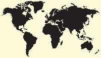 • FABRYKA FANTAZJI • Twoje szablony malarskie • - Szablon malarski: Mapy 01