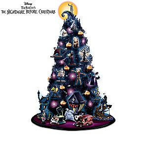$60- The Nightmare Before Christmas Tabletop Tree Collection
