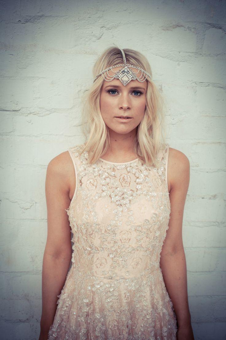 love. love. love  http://wolfandelk.com.au/the-arctic-wolf/ bridal headpiece #headpieces #bridalheadpieces #weddingheadpieces #eventheadpieces