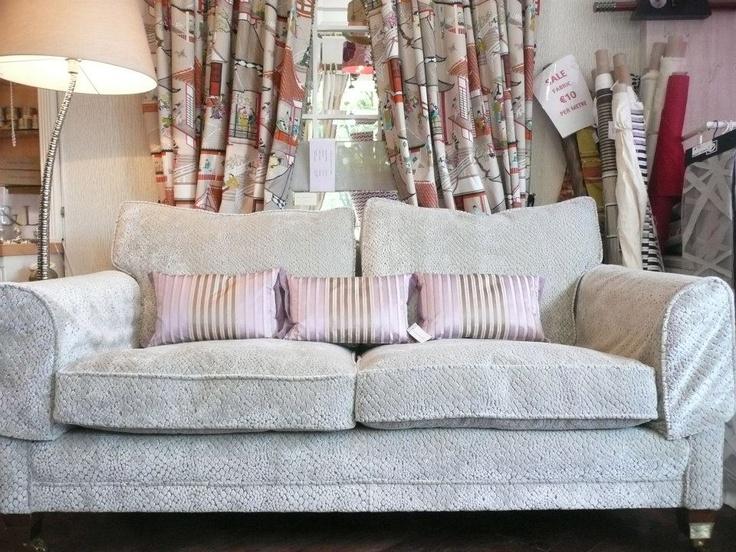 New in! Serpente devore chenille sofa €5,500
