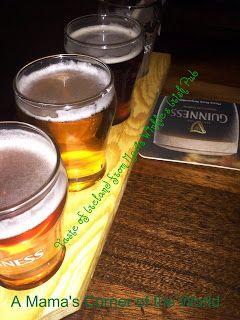 Taste of Ireland Sampler from Restaurant Review: Mavis Winkle's Irish Pub in Independence Ohio ~ A Mama's Corner of the World