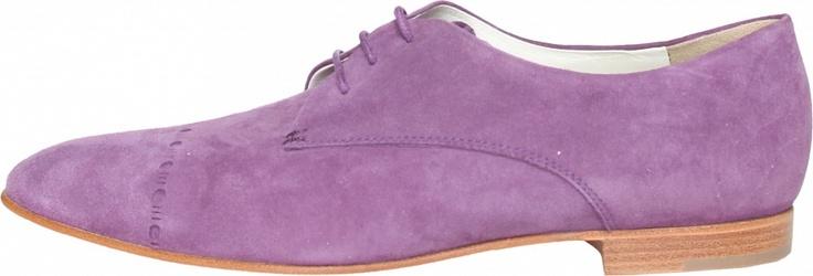 Fialové oxfordky ve skvělé fialové barvě!