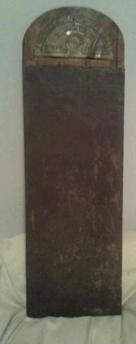 Antique Vintage Primitive Woodenware Kitchenware The Wellington Knife Board | eBay