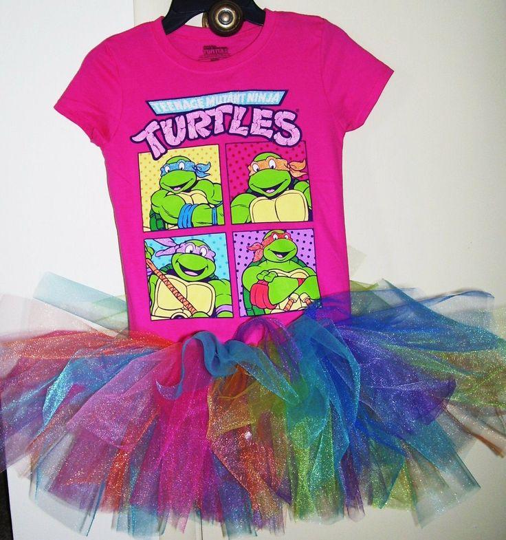 Teenage Mutant Ninja Turtles  tutu dress sizes by DesignsbyClaudia, $27.99