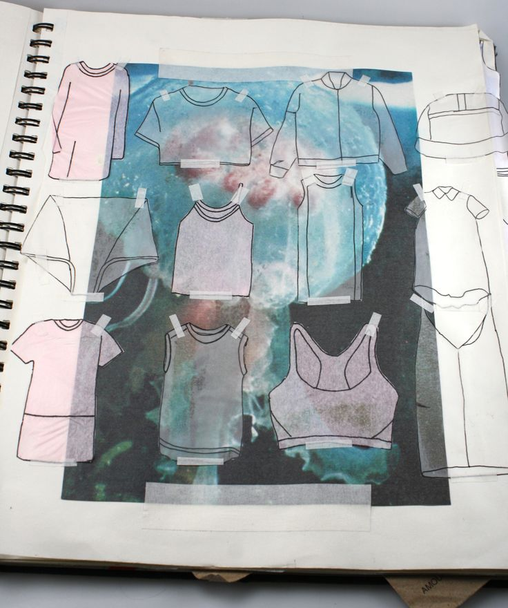 Harley Ellis Fashion Futures sketchbook