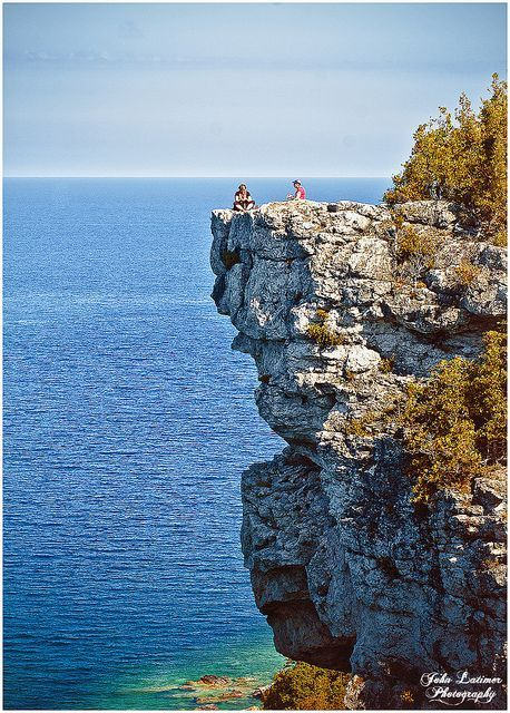 On the Lion's Head, on the Georgian Bluffs, part of the Bruce Trail, near Lions Head, Ontario ~j&g•were•here~2017