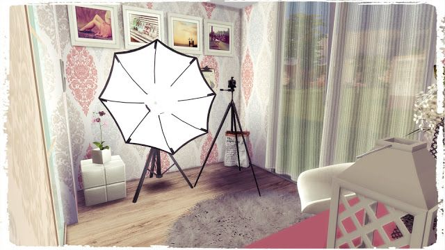 Sims 4 - Youtuber Bedroom
