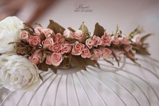 Мастер-класс веночек из бутонов роз (фоамиран)   Страна Мастеров