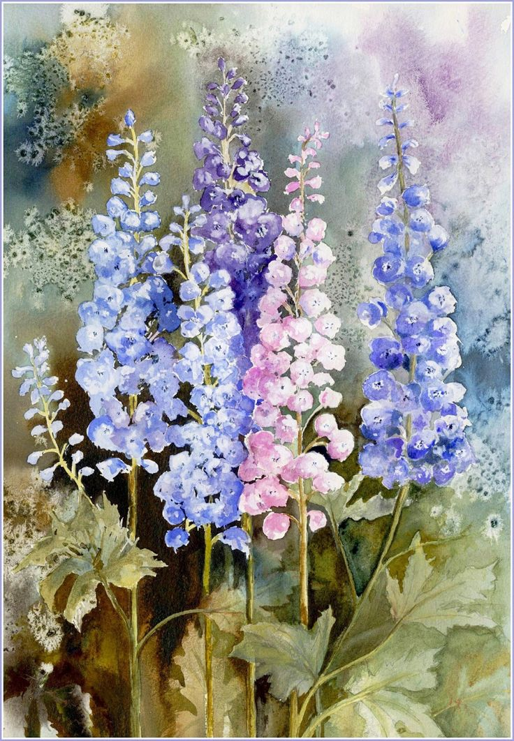 Watercolour Florals Yvonne Harry