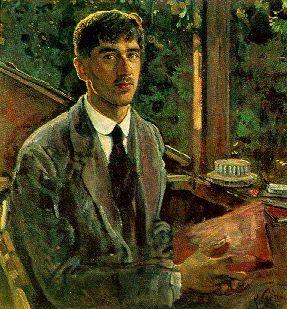 Korney Chukovsky by Isaak Brodsky (1915)