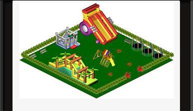 Questo software è particolarmente indicato per la progettazione di aree gioco per bambini.