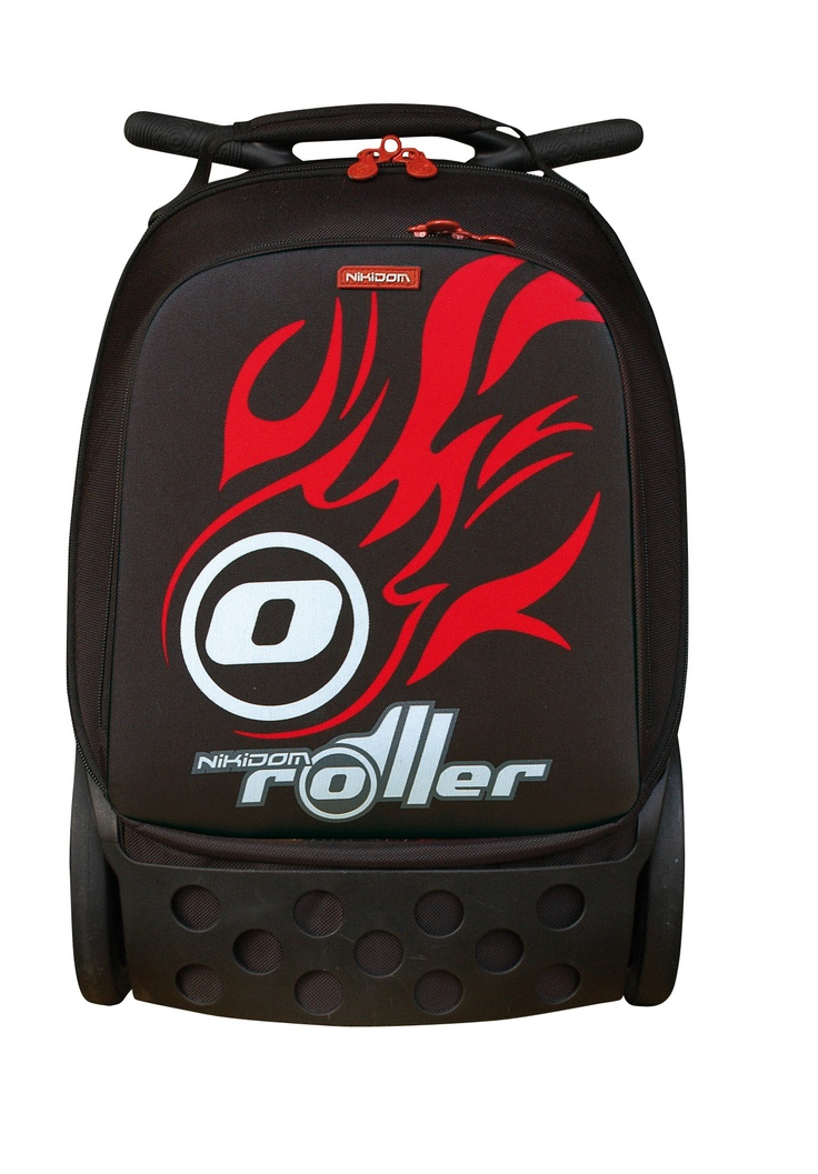 Roller FIRE, a classic design for this great trolley bags kids and teens will love.
