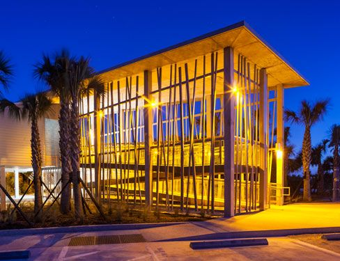 Astounding Home Design Photos Decor Fetching Small Modern Designs Pleasing Tools Fusion Beachside Park Pavilion The Amber Glow Of