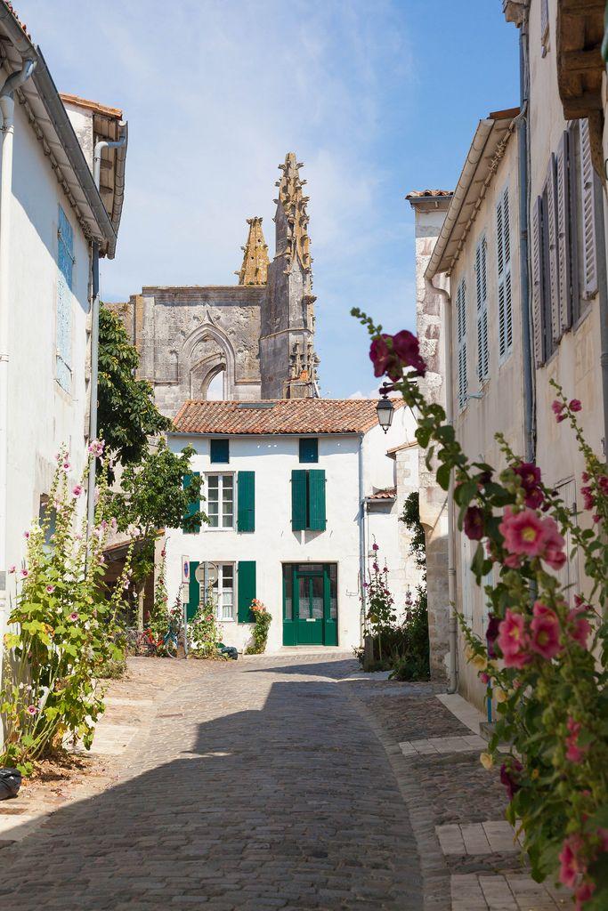 Saint-Martin-de-Ré, Poitou-Charentes-Maritime, île de Ré_ France