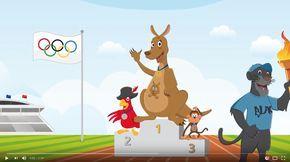 Chanson des Jeux olympiques avec gestes #brainbreak