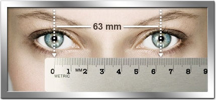 How to measure your P.D. so you can order glasses online.
