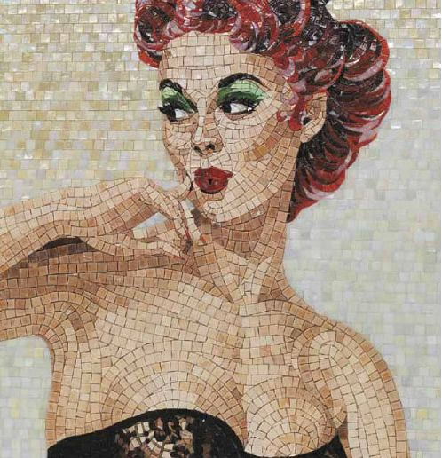 If It's Hip, It's Here: Modern Mosaic Art For Interiors, Tubs, Lamps  Rugs: SICIS - The Art Factory