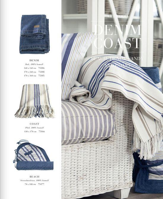 Artwood indigo style blue and white textiles