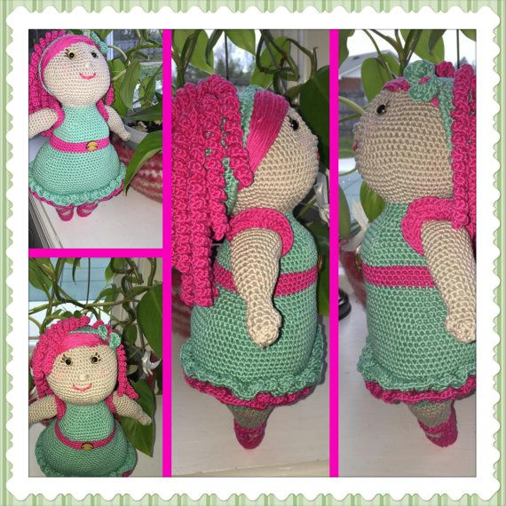 Miss Rubi  Miss Hook Design  by CreatedbyMaGi on Etsy