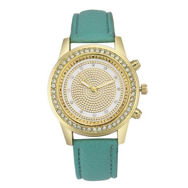 Women Geneva Watches Crystal Quartz Watch Analog Wrist For Women