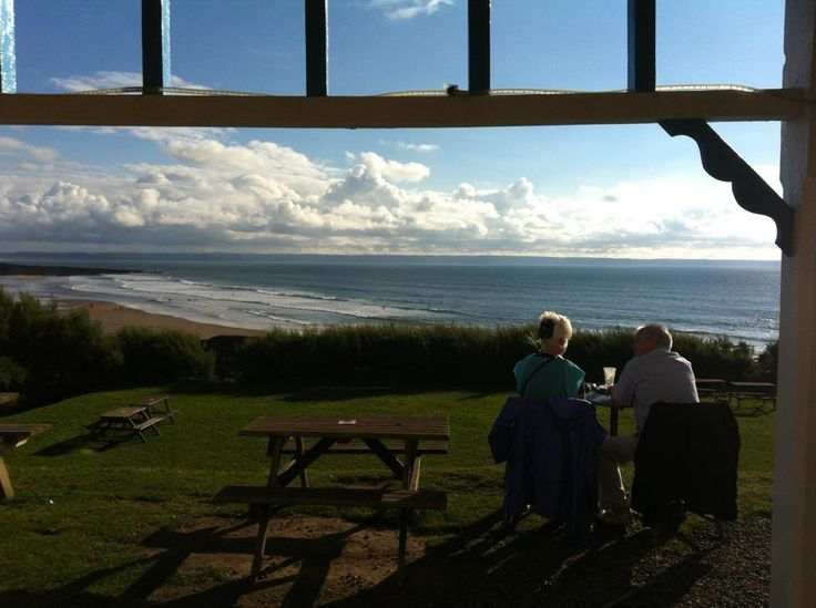 The view from Baggy Lodge, Croyde Bay, North Devon.