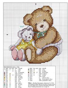 Schema punto croce Baby Is Love 9