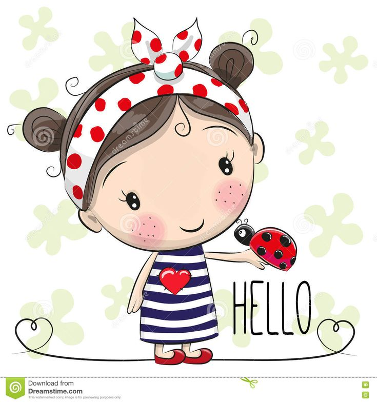 Cute Cartoon Girl - Download From Over 49 Million High Quality Stock Photos, Images, Vectors. Sign up for FREE today. Image: 75671747