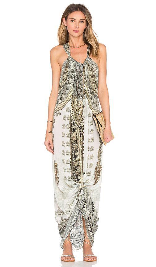 Camilla Drawstring Dress in Coats Of Light | REVOLVE