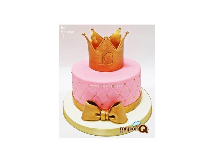 Torta princesas, torta corona