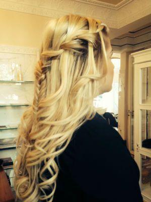 Wasserfallzopf #hair #frisur
