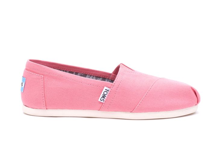 Enjoy your TOMS Classics with a feel-good pop of color. With their everyday comfort and effortless style, you'll have many bright days ahead in them.