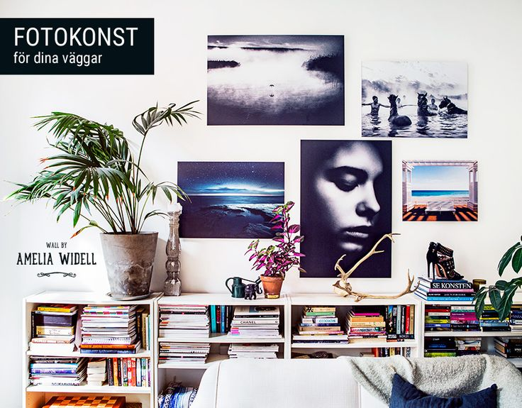 Amelia Widell + Gallerix = Härligt inspirerande väggar