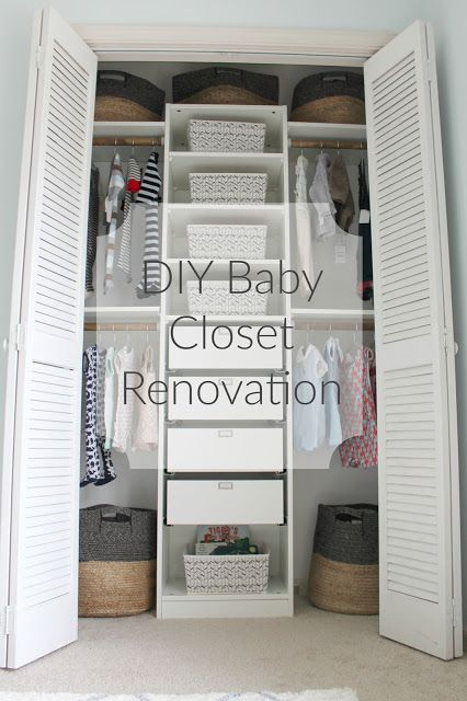 The Reedy Review: Our Nursery Closet Renovation